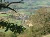 gite-aveyron-hameau-lamothe-depuis-colline-chemin